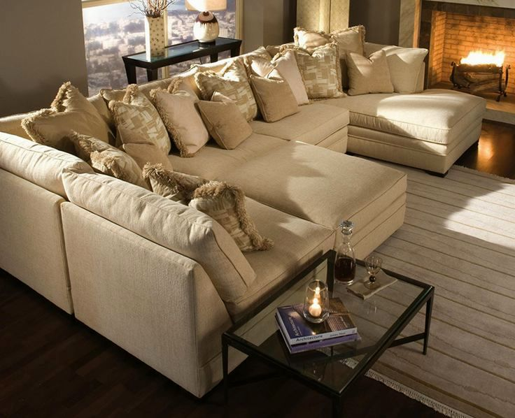 stunning u shaped sectional sofa with chaise layout-Unique U Shaped Sectional sofa with Chaise Image