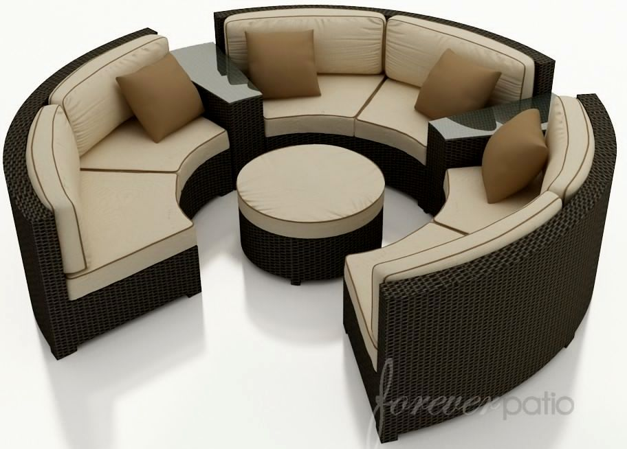 stylish curved sectional sofa layout-New Curved Sectional sofa Model