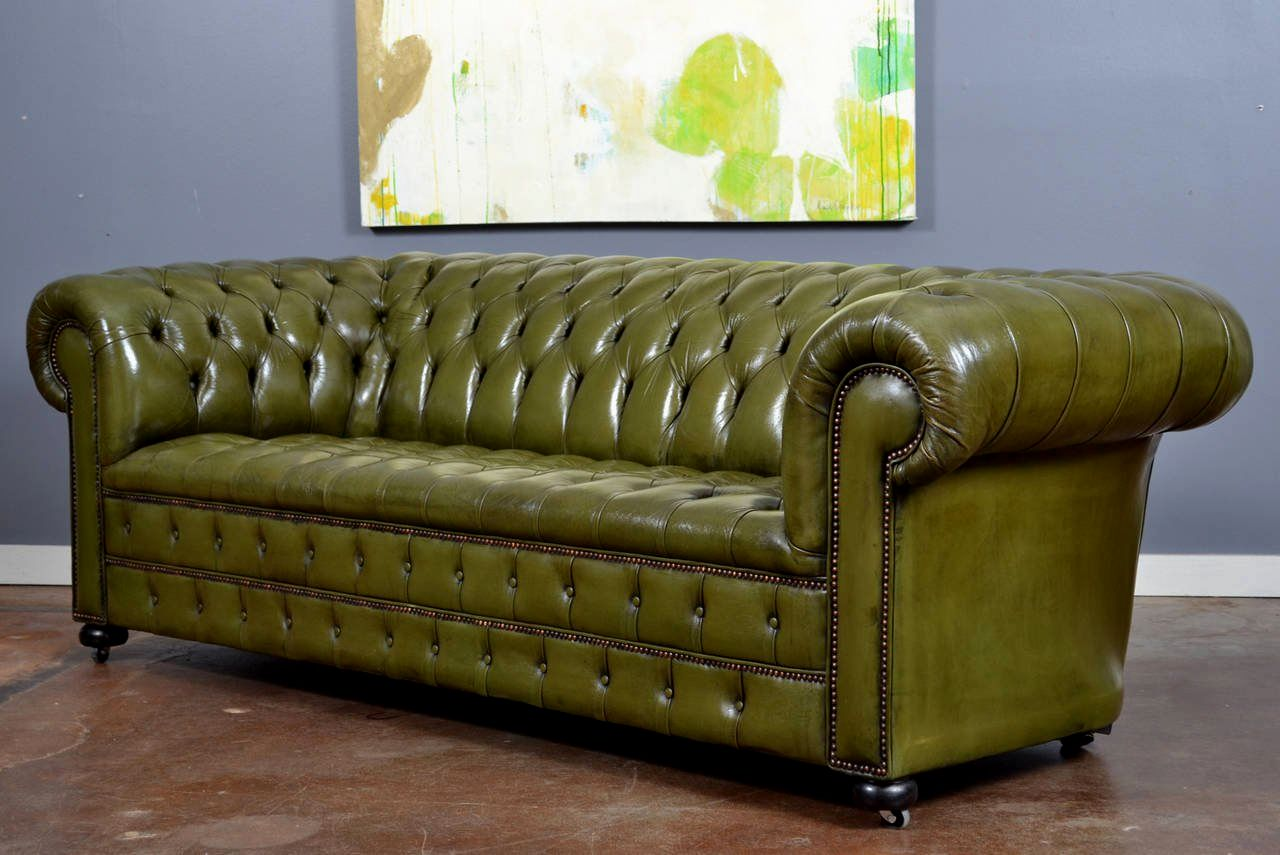 superb green leather sofa picture-Finest Green Leather sofa Picture
