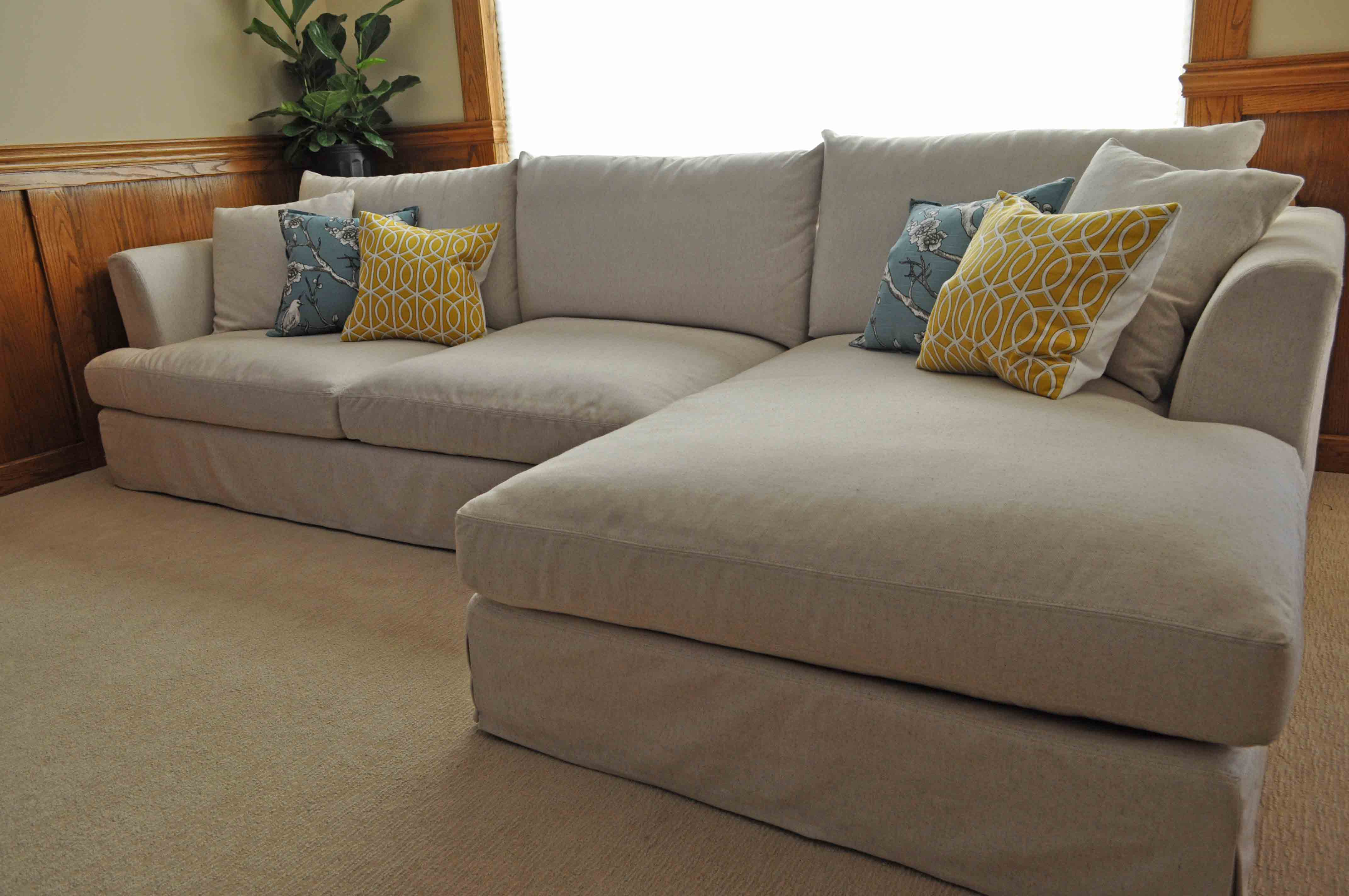Lovely Large Sectional sofa with Chaise Architecture - Modern Sofa ...