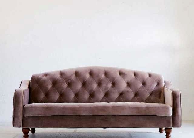 superb velvet tufted sofa image-Beautiful Velvet Tufted sofa Portrait