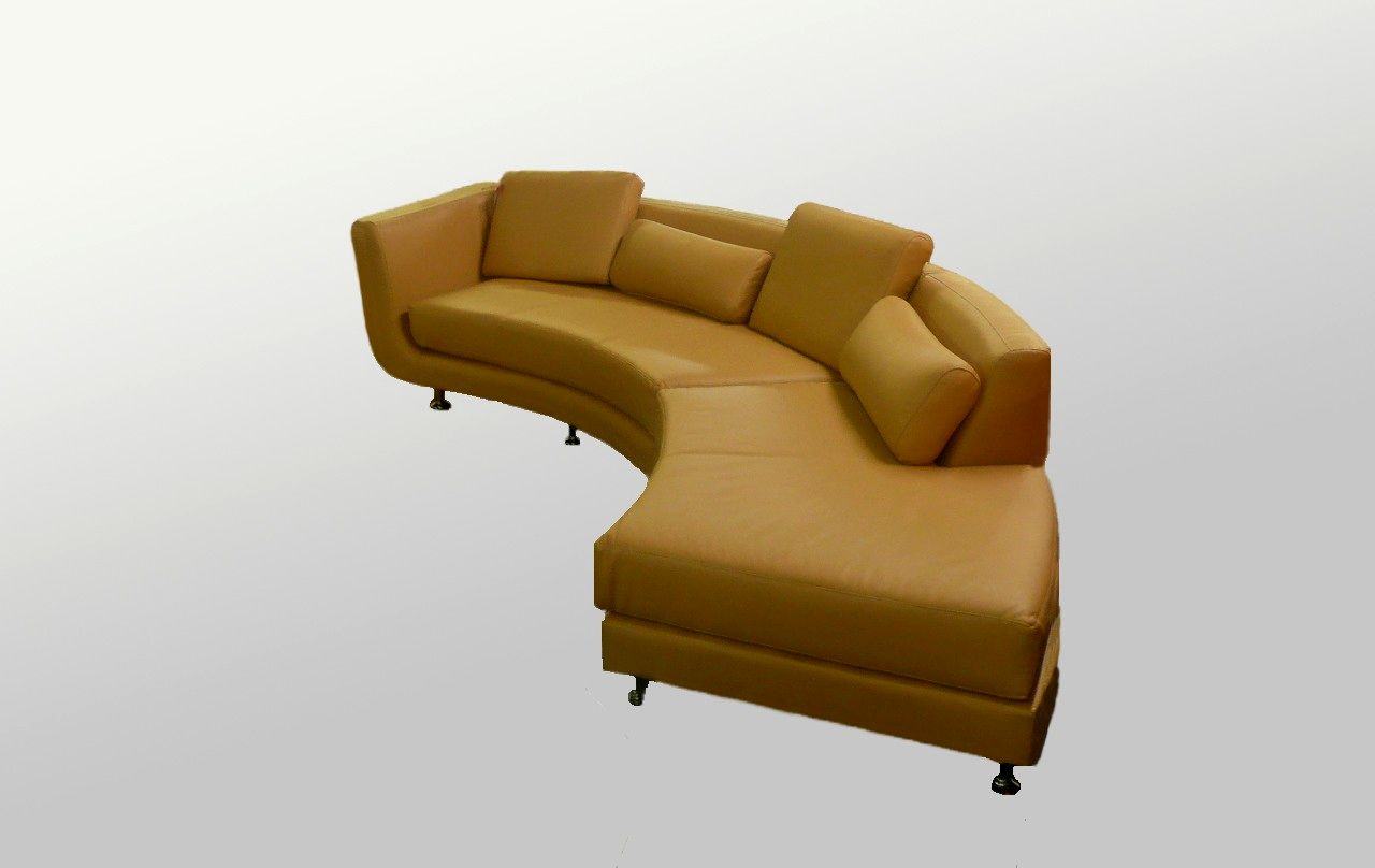 top circle sectional sofa image-Fascinating Circle Sectional sofa Image
