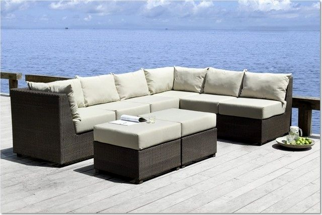 top outdoor sectional sofa online-Stylish Outdoor Sectional sofa Design