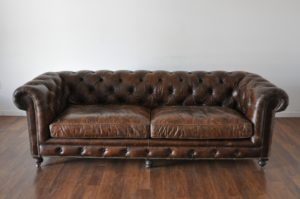 Tufted Leather sofa Sensational Small David Tufted Leather sofa Mecox Gardens Image