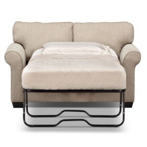 Twin Sleeper sofa Cute Fletcher Twin Memory Foam Sleeper sofa Beige Photo
