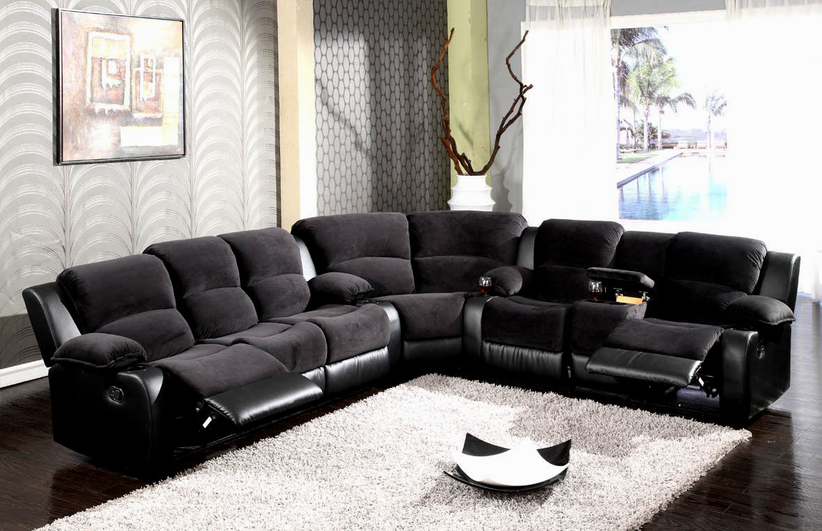 unique reclining sectional sofas construction-Finest Reclining Sectional sofas Layout