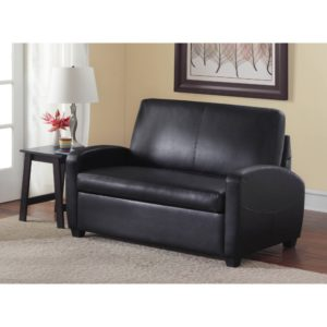 Walmart Sleeper sofa Superb Mainstays Loveseat Sleeper Black Walmart Décor