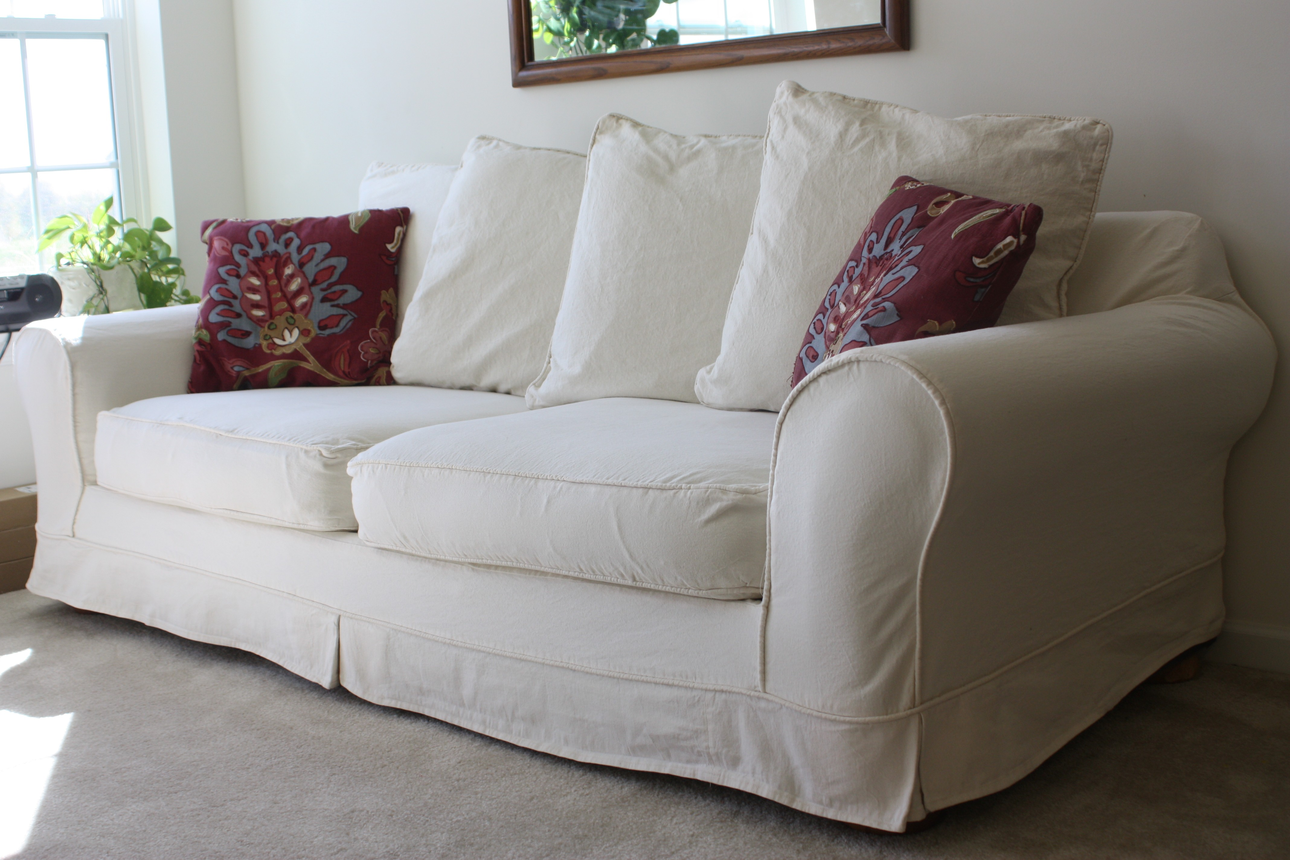 White sofa Slipcover Awesome Perfect F White sofa Slipcover Modern sofa Ideas with F Decoration