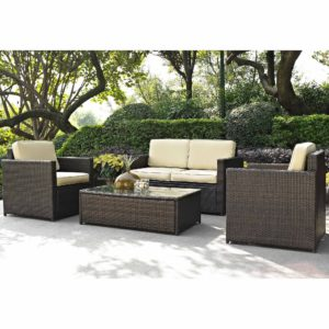 Wicker sofa Set Cute Teksupply Gallon Tank Wconical Bottom Walmart Layout