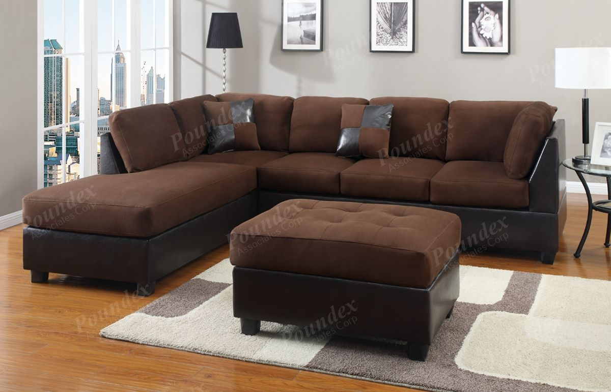 amazing brown sectional sofas photo-Modern Brown Sectional sofas Wallpaper