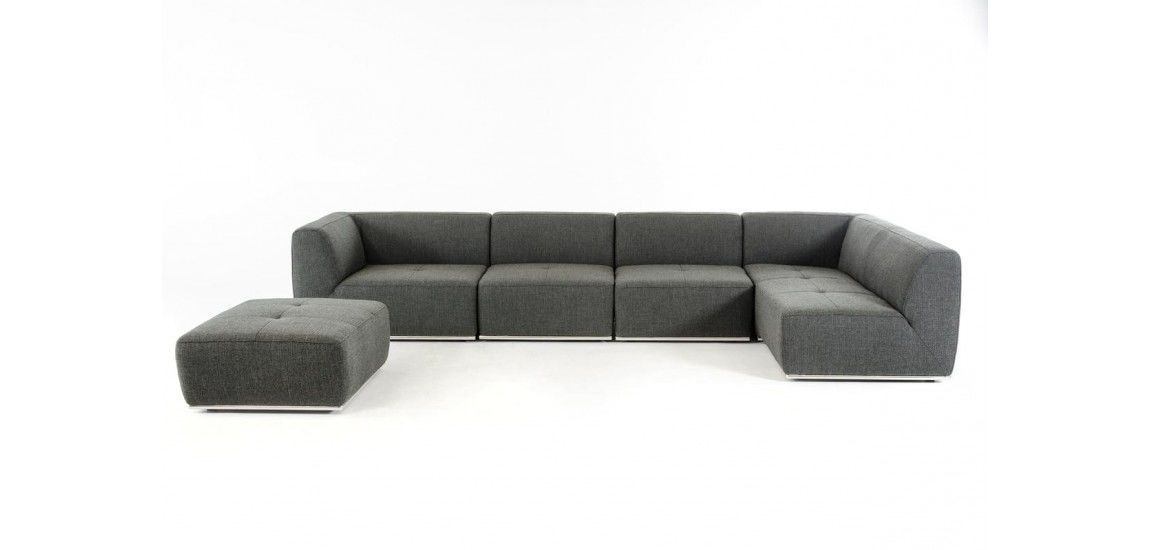 amazing grey fabric sectional sofa gallery-Superb Grey Fabric Sectional sofa Concept