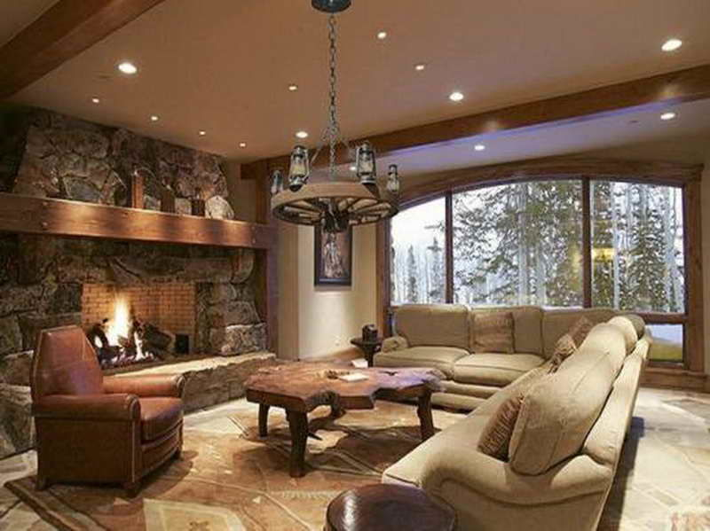 amazing rustic sectional sofas layout-Amazing Rustic Sectional sofas Picture