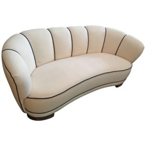 Art Deco sofa Beautiful Swedish Art Deco sofa at 1stdibs Inspiration