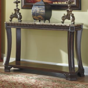 Ashley sofa Table Amazing Signature Design by ashley Ledelle Old World sofa Table with Construction