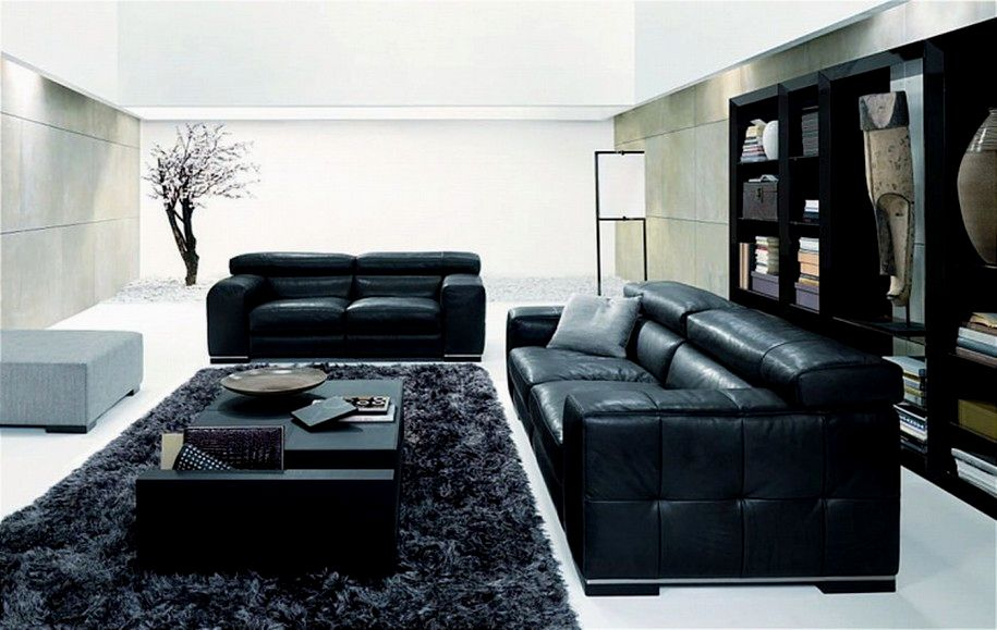 awesome black faux leather sofa concept-Finest Black Faux Leather sofa Picture