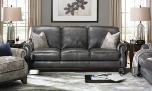 awesome grey leather sectional sofa model-Best Grey Leather Sectional sofa Collection