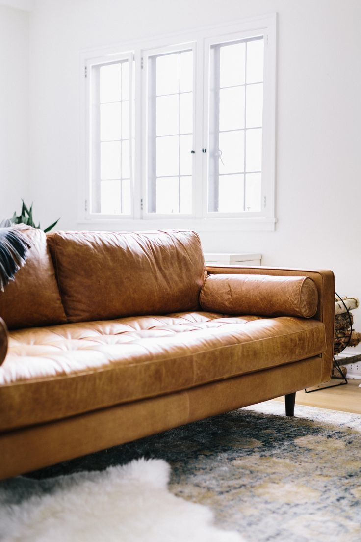 awesome mid century modern leather sofa picture-Lovely Mid Century Modern Leather sofa Pattern