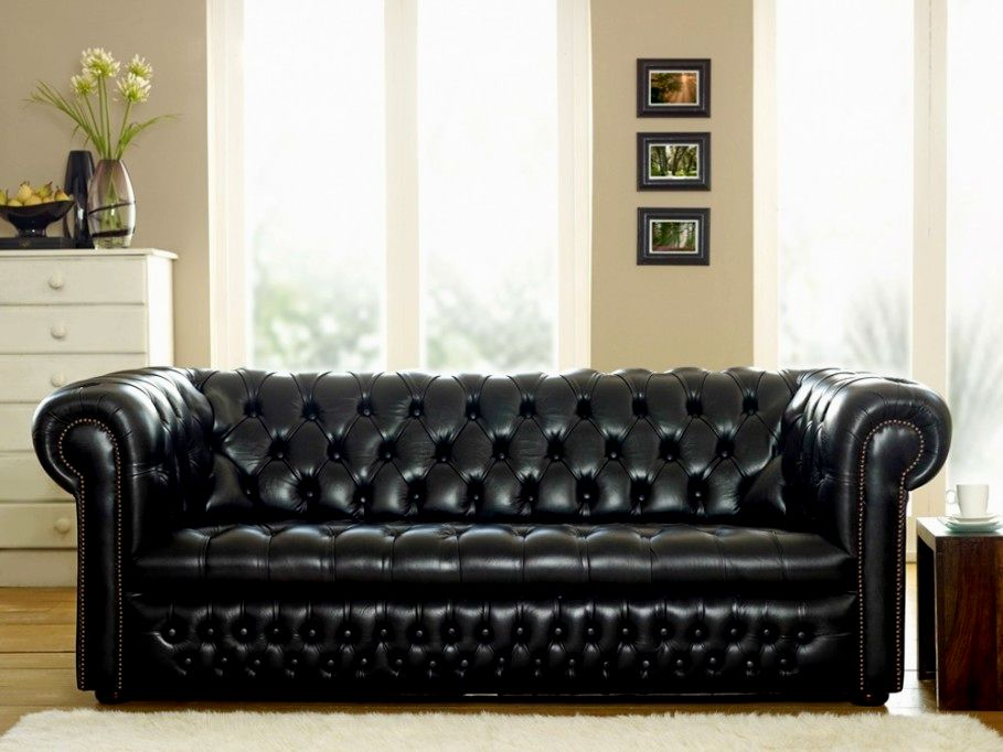 beautiful black leather sofas photo-Amazing Black Leather sofas Online