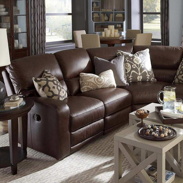 beautiful brown sectional sofas decoration-Modern Brown Sectional sofas Wallpaper