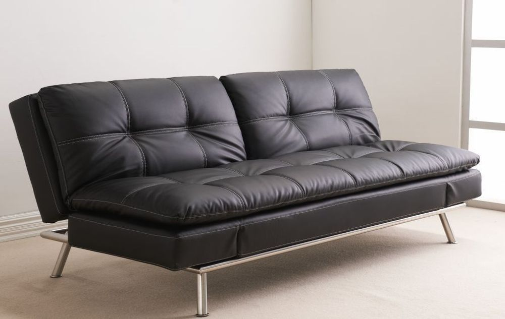 beautiful click clack sofa bed with storage design-Elegant Click Clack sofa Bed with Storage Plan