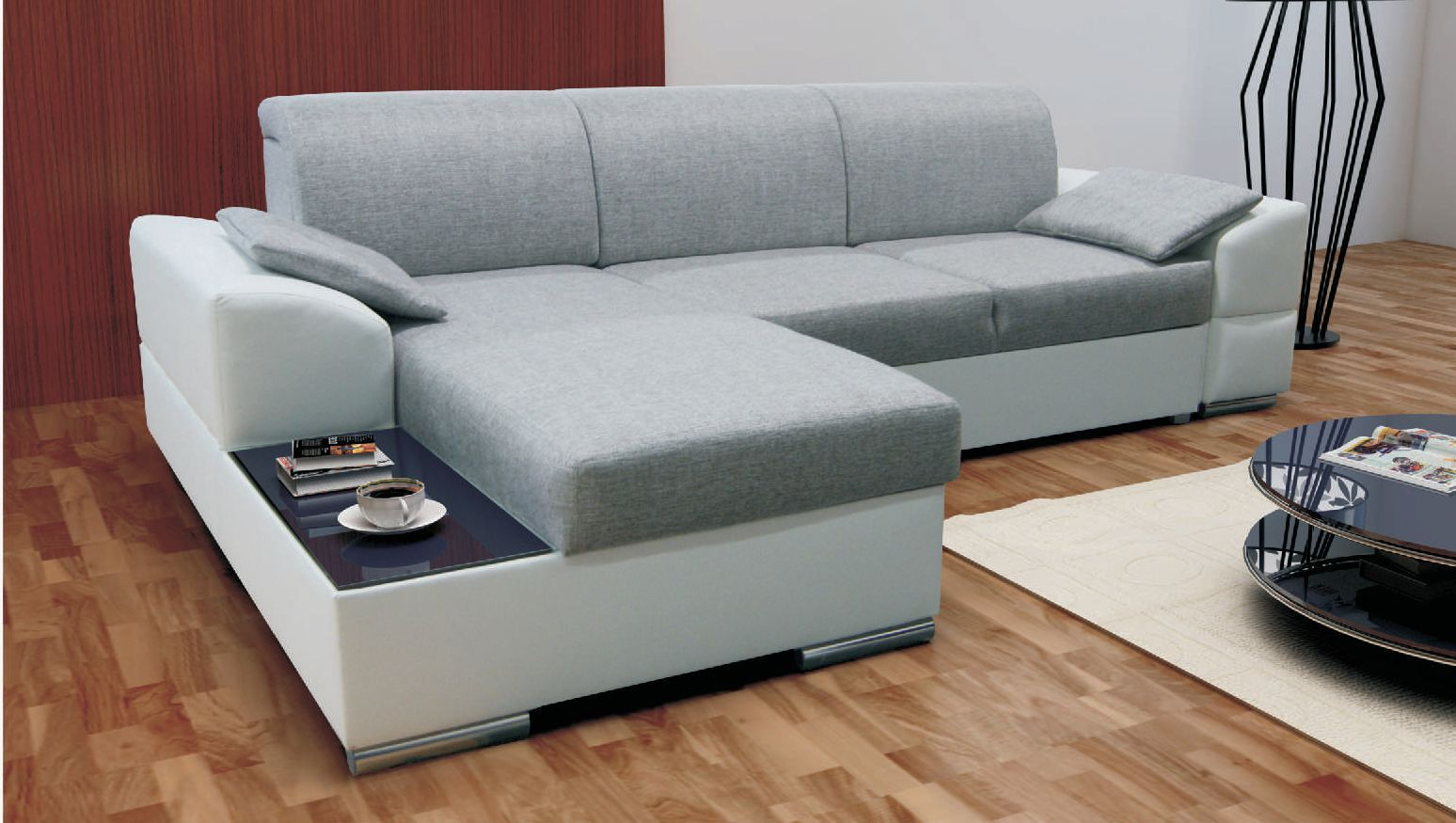 beautiful click clack sofa bed with storage image-Elegant Click Clack sofa Bed with Storage Plan