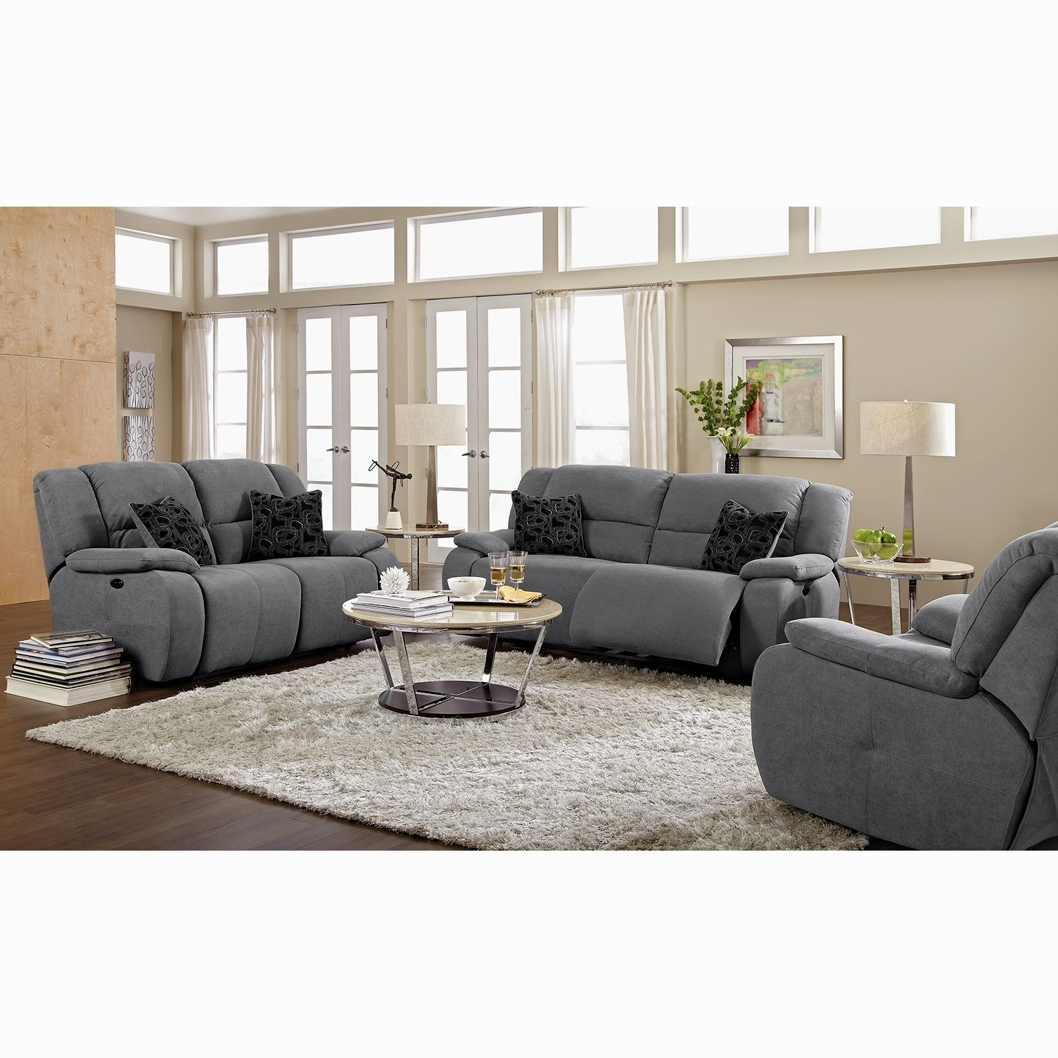 beautiful gray sectional sofa with chaise picture-Superb Gray Sectional sofa with Chaise Collection
