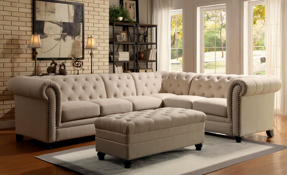 beautiful linen sectional sofa layout-Beautiful Linen Sectional sofa Model