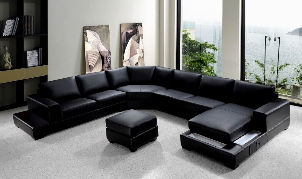 beautiful modern leather sectional sofa plan-Amazing Modern Leather Sectional sofa Gallery
