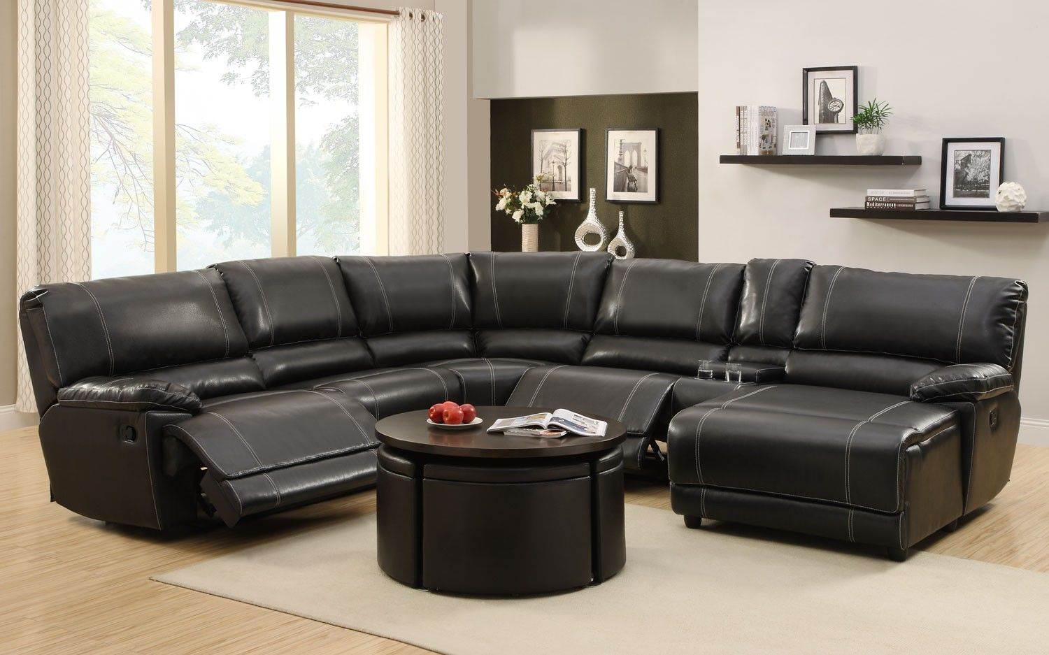 beautiful modern recliner sofa model-Wonderful Modern Recliner sofa Picture