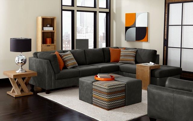 best black sectional sofas collection-Cute Black Sectional sofas Concept