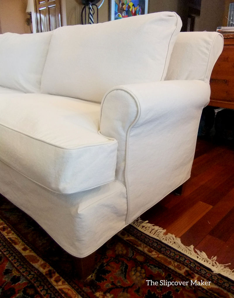 Best Canvas Sofa Slipcover Design Incredible