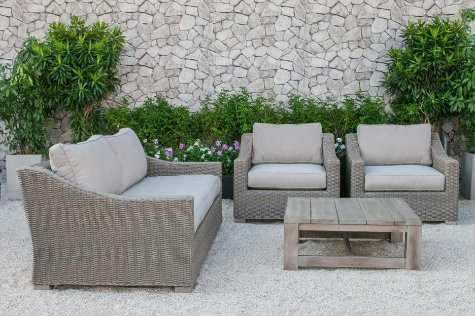 best christopher knight home puerta grey outdoor wicker sofa set ideas-Fancy Christopher Knight Home Puerta Grey Outdoor Wicker sofa Set Plan