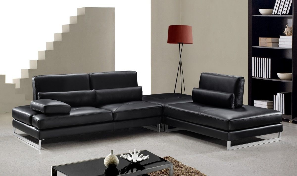 best of black leather sectional sofa gallery-Fresh Black Leather Sectional sofa Portrait