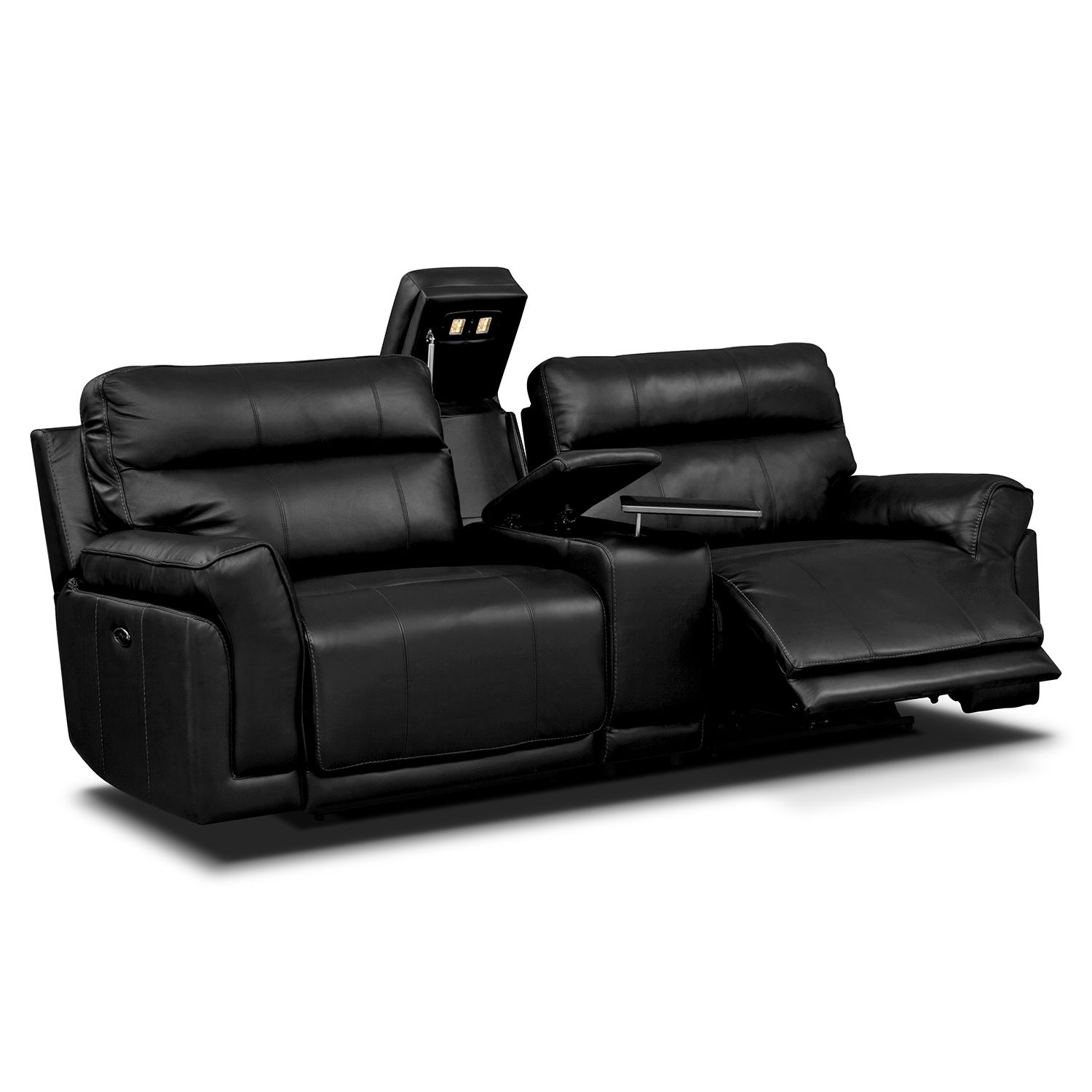 best of black leather sectional sofa photo-Fresh Black Leather Sectional sofa Portrait