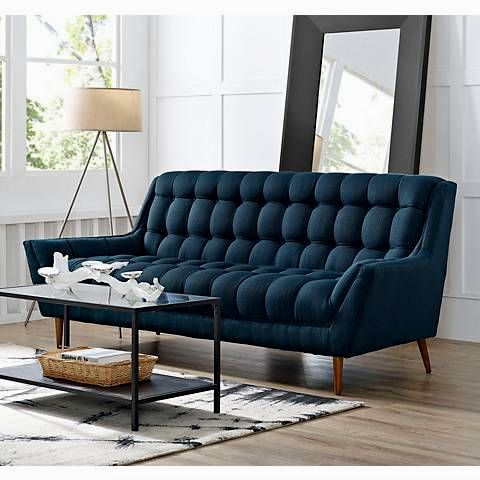 best of blue tufted sofa construction-Terrific Blue Tufted sofa Construction