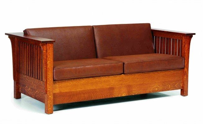 best of craftsman style sofa picture-Beautiful Craftsman Style sofa Décor