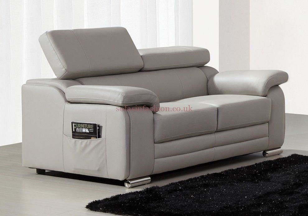 best of grey leather sectional sofa online-Best Grey Leather Sectional sofa Collection