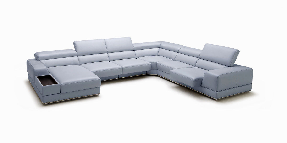 best of modern gray leather sofa model-Superb Modern Gray Leather sofa Portrait