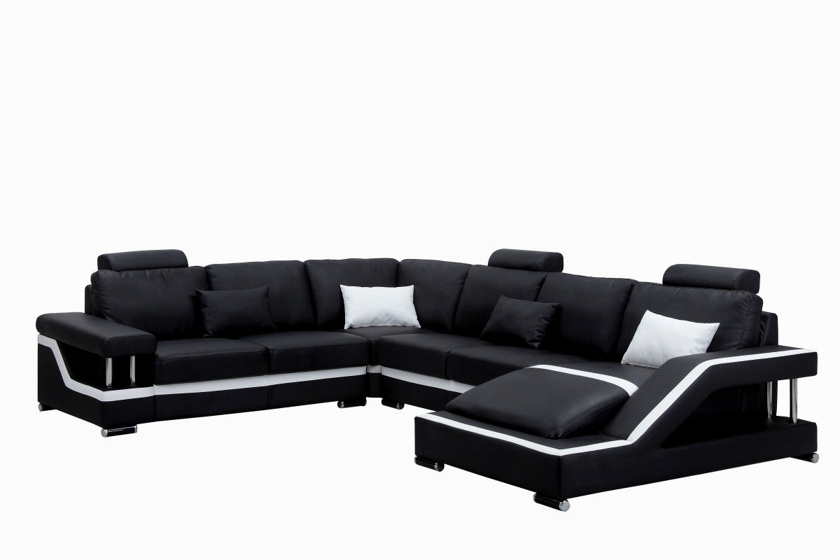 best of sectional leather sofa construction-Stylish Sectional Leather sofa Image