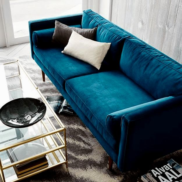 best west elm leather sofa image-Cute West Elm Leather sofa Design