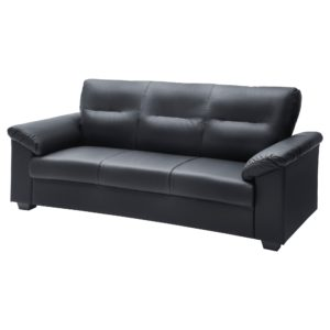 Black Leather sofas top Knislinge sofa Ikea Décor