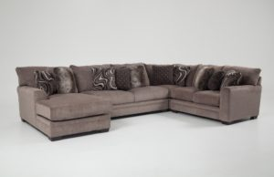Bobs Furniture sofas Amazing Luxe 4 Piece Right Arm Facing Sectional with Chaise Plan