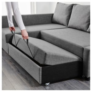 Chaise sofa Bed Cute Friheten Corner sofa Bed with Storage Skiftebo Dark Gray Ikea Picture