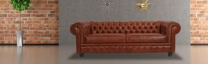 Chesterfield sofa Leather Superb Chesterfield sofa Chevron Grey Twill Kar L Photo