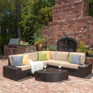 Christopher Knight Home Puerta Grey Outdoor Wicker sofa Set Fascinating Christopher Knight Home Puerta Grey Outdoor Wicker sofa Set Living Online