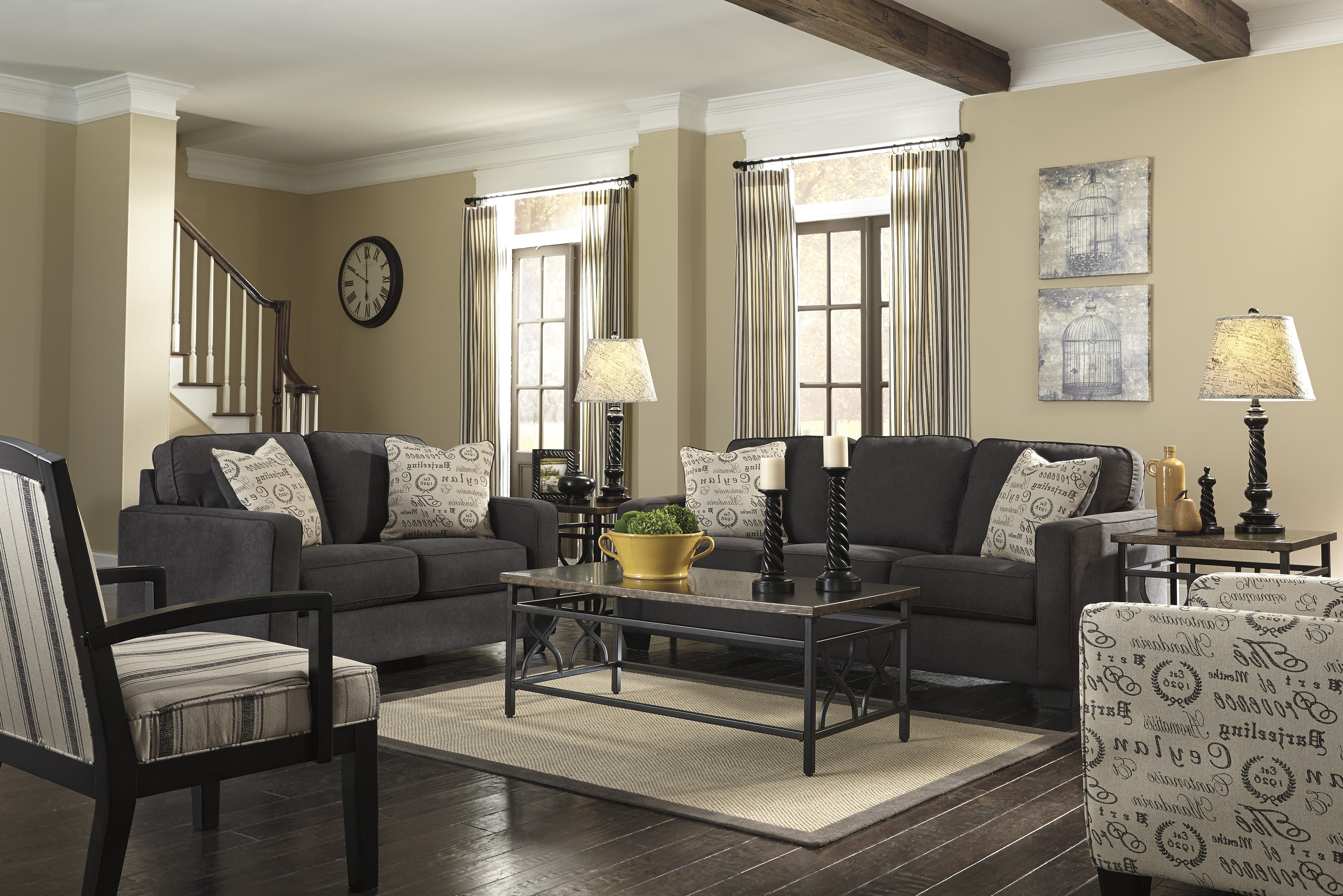 Elegant Charcoal Gray Sectional Sofa Picture Modern Sofa