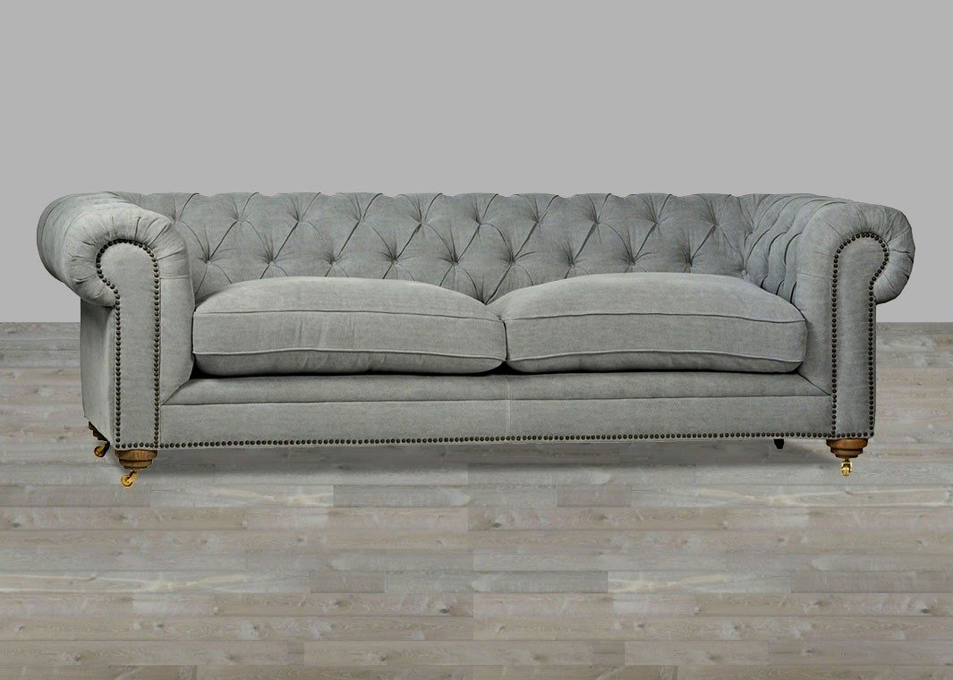 Fresh Gray Tufted Sectional Sofa Photo Modern Sofa