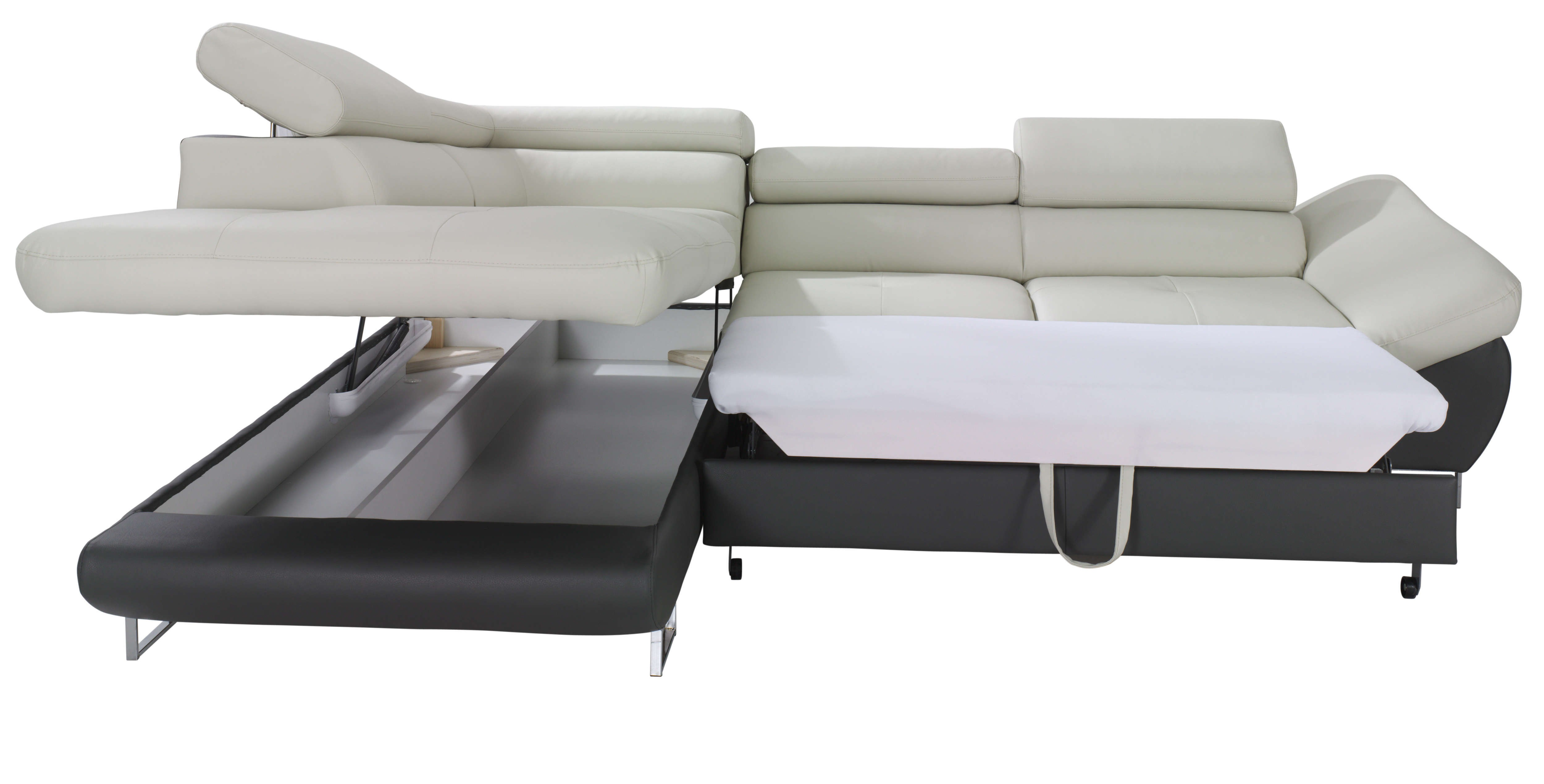 contemporary gray tufted sectional sofa model-Fresh Gray Tufted Sectional sofa Photo