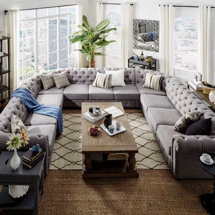 contemporary large sectional sofa collection-Awesome Large Sectional sofa Plan