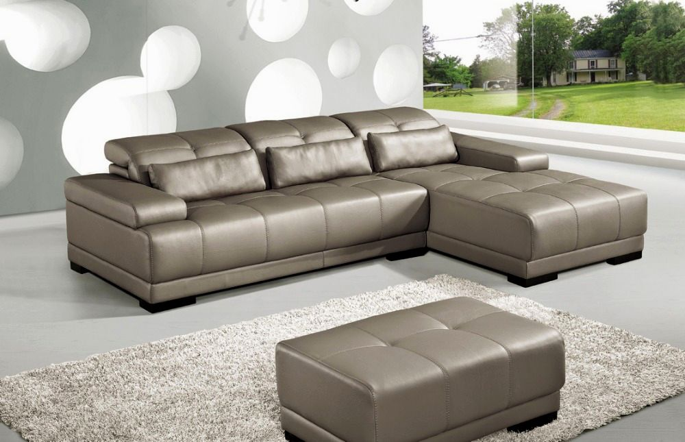 contemporary leather white sofa concept-Elegant Leather White sofa Collection
